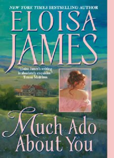 Much Ado About You (Essex Sisters, book 1)