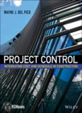 Project control. Del Pico, CPE : integrating cost and schedule in construction