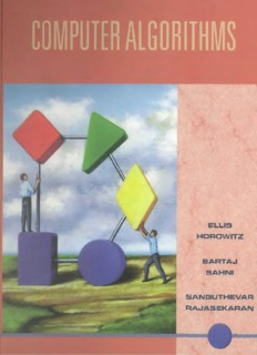 Horowitz and Sahani, Fundamentals of Computer Algorithms, 2ND Edition