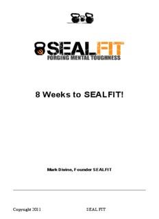 8 Weeks to SEAL FIT