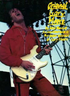ORIGINAL GARY MOORE: An annotated guide to the guitar technique of Gary Moore