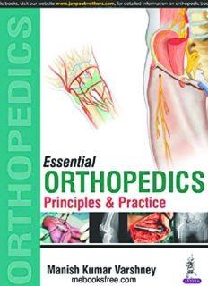 Essential Orthopedics. Principles and Practice