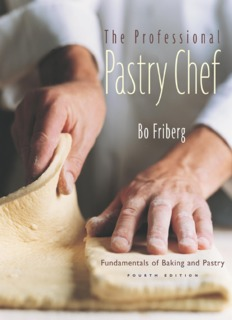 The Professional Pastry Chef: Fundamentals