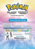 Pokemon Black & White Prima Official Guide (Volume 1)