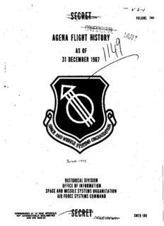 agena flight history as of \ 31 december 1961 1 - National