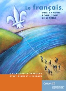 Le français, une langue pour tout le monde - Secrétariat à la