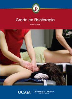 Grado en Fisioterapia
