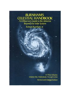 Burnham's Celestial Handbook: An Observer's Guide to the Universe beyond the Solar System (1