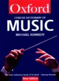 The Concise Oxford Dictionary of Music (Oxford Paperback Reference)