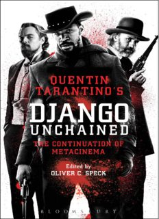 Quentin Tarantino's Django unchained : the continuation of metacinema