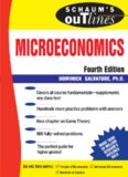 Schaum's Outline of Microeconomics, 4th edition (Schaum's Outline Series)