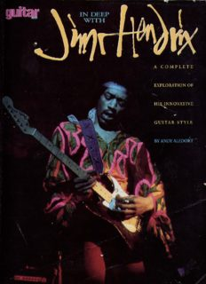 In Deep with Jimi Hendrix: A Complete Exploration of His Innovative Guitar Style