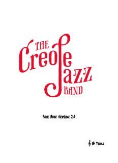 Creole Jazz Band Fake Book Ver 2.4 Bb Treble