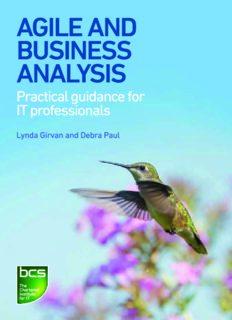 Agile and Business Analysis