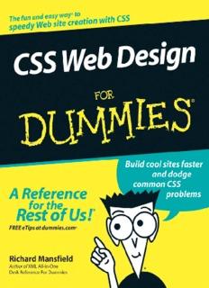 CSS Web Design For Dummies