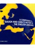 A Companion to Baugh and Cable's History of the English Language