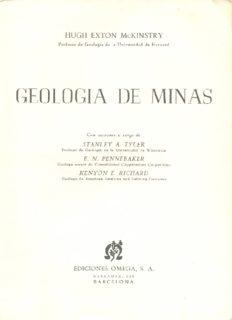 Geología de Minas