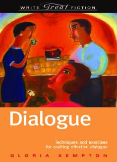 Dialogue - Gloria Kempton - Write Great Fiction - .PDF
