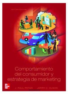 Comportamiento del consumidor y estrategia de marketing