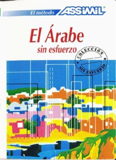 El árabe sin esfuerzo (with Audio)
