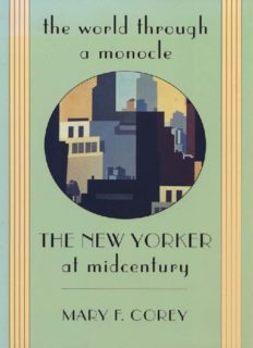 The World through a Monocle: The New Yorker at Midcentury