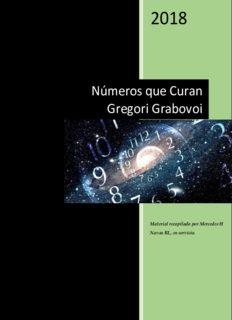Números que Curan Gregori Grabovoi