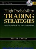 Robert Miner - High Probability Trading Strategies P