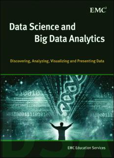 Data Science and Big Data Analytics