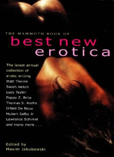 Mammoth Book of Best New Erotica 2002: Vol. 2