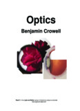 """Optics"", by B. Crowell - Caltech Astronomy"