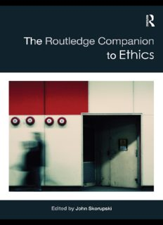 The Routledge Companion to Ethics (Routledge Philosophy Companions)