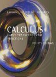Calculus: early transcendental functions, Fourth Edition