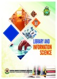 Class XI - Library & Information Science