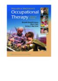 Willard and Spackman's Occupational Therapy, 11th Edition