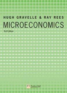 Microeconomics – Gravelle And Rees - WordPress.com