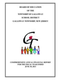board of education of the township of galloway school district galloway township, new jersey