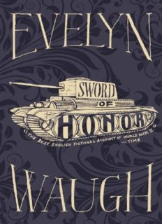 Sword of Honor (Men at Arms; Officers and Gentlemen; Unconditional Surrender)