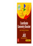 Coordinate Geometry Booster for IIT JEE Main and Advanced Rejaul Makshud McGraw Hill