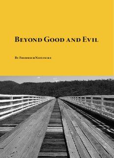 Download Beyond Good and Evil by Friedrich Nietzsche in pdf