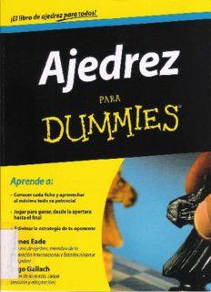 Ajedrez para dummies - James Eade Yago
