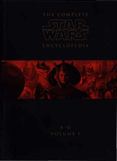 The Complete Star Wars Encyclopedia Vol. 1