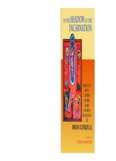In the Shadow of the Incarnation: Essays on Jesus Christ in the Early Church in Honor of Brian E. Daley, S.J.