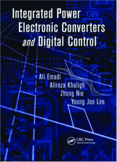 Integrated Power Electronic Converters and Digital Control (Power Electronics and Applications Series)