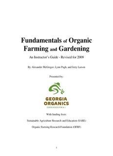 Fundamentals Organic Farming Gardening