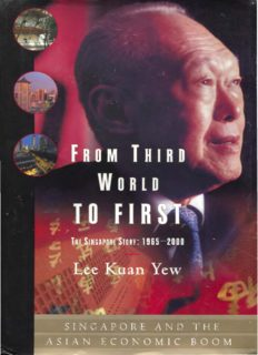 From Third World to First: The Singapore Story, 1965–2000