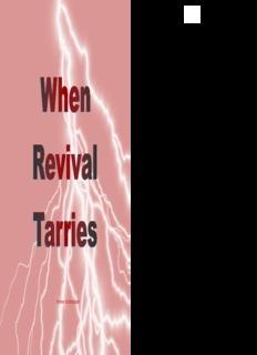 When Revival Tarries