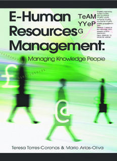 E-Human Resources Management Managing Knowledge People