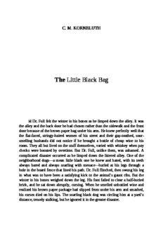 C.M. Kornbluth - The Little Black Bag UC