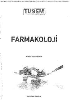 Tusem Farmakoloji Konu Kitabı