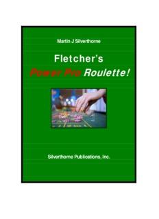 Fletcher's Power Pro Roulette! - Gamblers' Bookcase